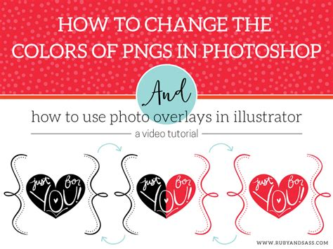 change pattern overlay color photoshop photo overlay tutorials ruby and sass graphic design