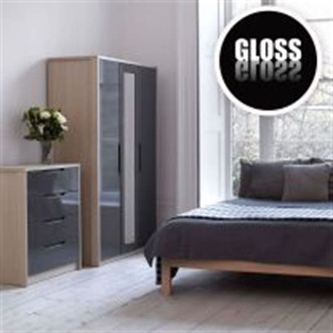 Bedroom Furniture Grey Gloss Chagne Avola With Grey Gloss Bedroom Furniture