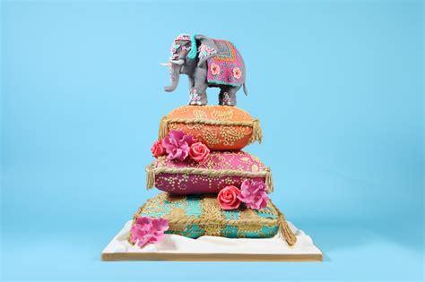 indian elephant wedding cake cakes  robin