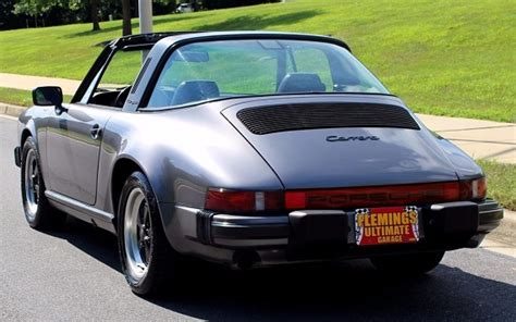 1986 porsche targa for sale 1986 porsche 911 carrera targa german cars for sale blog