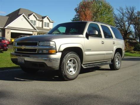 how to sell used cars 2003 chevrolet tahoe seat position control sell used 2003 chevy tahoe lt in sycamore illinois united states