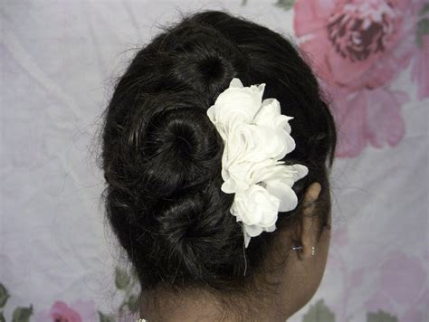 Hairstyle Rose Side Updo For Short Medium Long Hair 2014