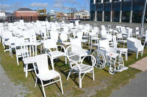Chair Memorial Christchurch 185 empty white chairs earthquake memorial christchurch