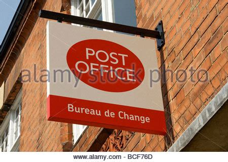 bureau de post a royal mail post office bureau de change currency
