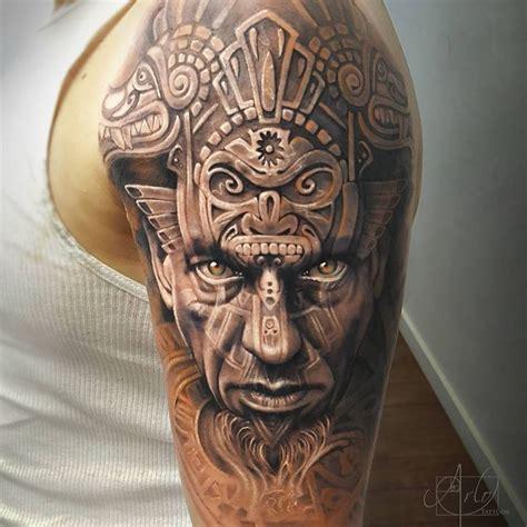 imagenes de caras mayas 50 dise 241 os de tatuajes mayas y su significado belagoria