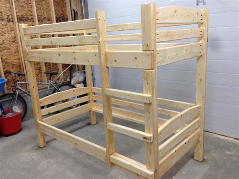 2x4 Bed Frame Plans Plans To Build 2x4 Bunk Beds Pdf Plans