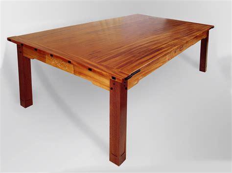 Table L Green by Large Tables Tom Lederer Studio Furniture
