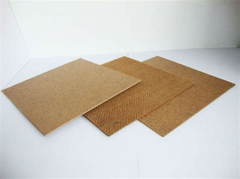 low cost mdf pegboard cost embossed fiberboard masonite manufacturer in china