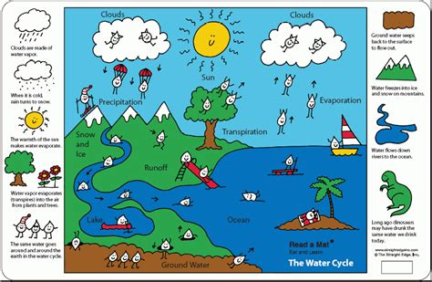 simple water diagram sps superstars the water cycle