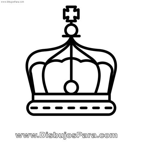 dibujos para colorear de coronas dibujo de corona de rey para pintar dibujos para colorear
