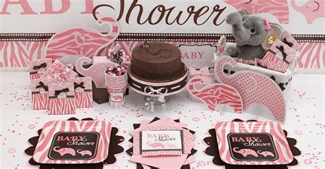 Pink And Brown Baby Shower Theme by Pink And Brown Baby Shower Ideas Baby Shower Decoration