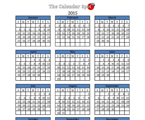 january 2016 calendar printable one page 2017 printable