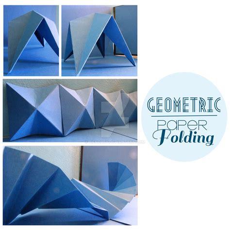 Geometric Paper Folding - geometric paper folding by bienchey on deviantart