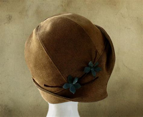 pattern sewing hat clementine 1920 s cloche hat by elsewhen craftsy