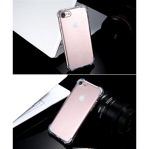 Anti Tpu Silicone Softcase Iphone 7 8 Shockproof Casing Cover anti tpu silicone softcase for iphone 7 8