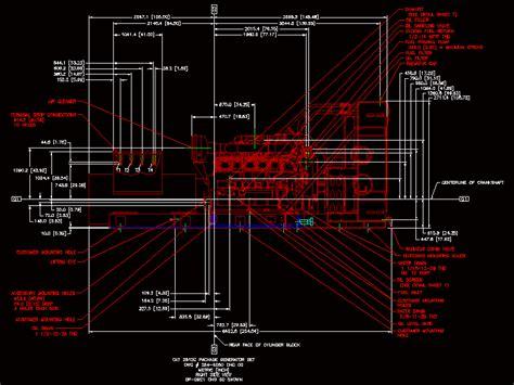 generator cat  dwg block  autocad designs cad