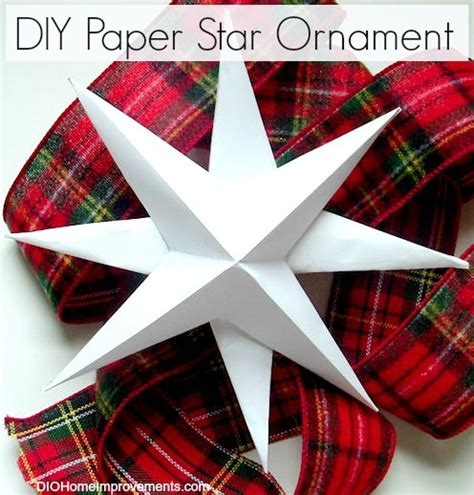 How To Make Paper Ornament - diy projects 2013 dio home improvements