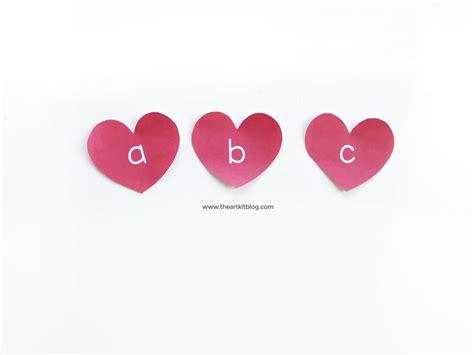 free printable valentine letters valentine s day writing tray with free printable heart letters