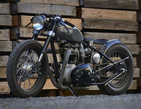 Alte Triumph Motorrad by Triumph Bobber