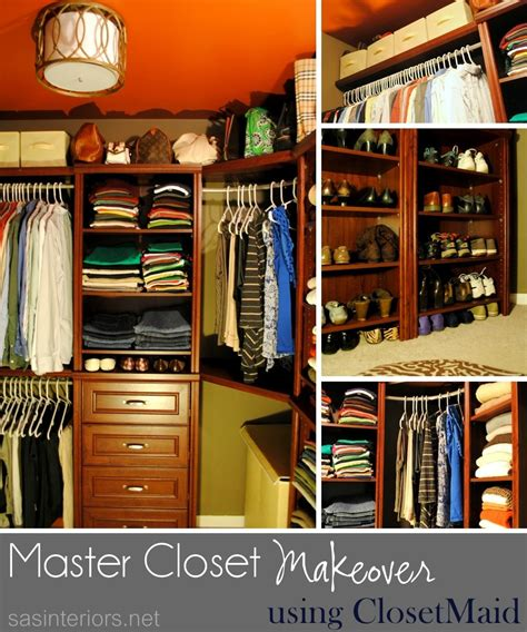 closet makeovers from wire to wood master closet makeover reveal jenna