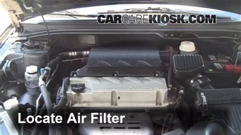 how does a cars engine work 2005 mitsubishi outlander parental controls air filter how to 2004 2012 mitsubishi galant 2005 mitsubishi galant es 2 4l 4 cyl
