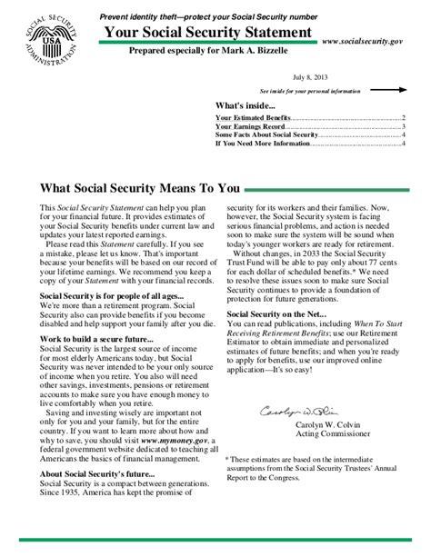 Award Letter Irs Socialsecurity Mb