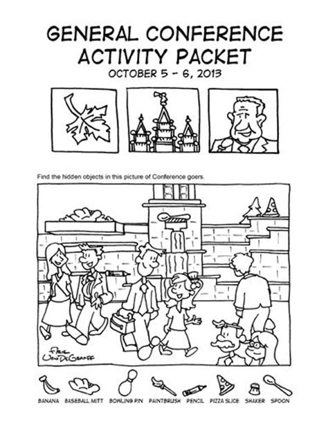 coloring pages for lds general conference lds general conference coloring activity pages for kids