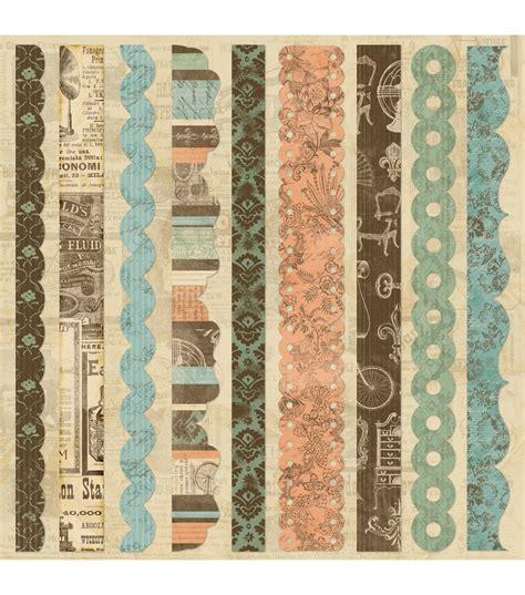 printable fabric sheets joanns grandma s attic self adhesive fabric sheet 12 quot x12 border