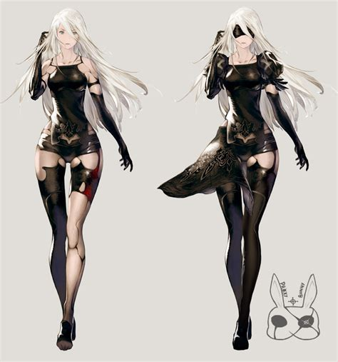nier automata a2 re imaginated by proxybunny on deviantart