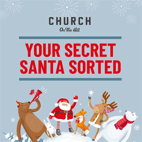 secret santa gift vouchers church   hill