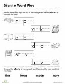 Silent E Printable Worksheets