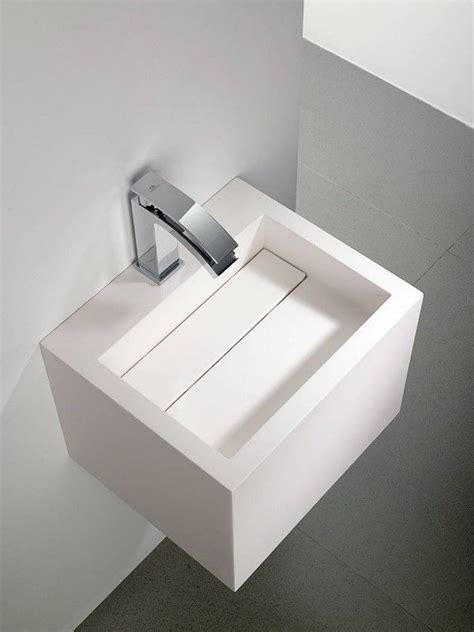 porcelanosa bathroom sinks yat sink in krion by systempool with hidden drainage system b a g n o pinterest