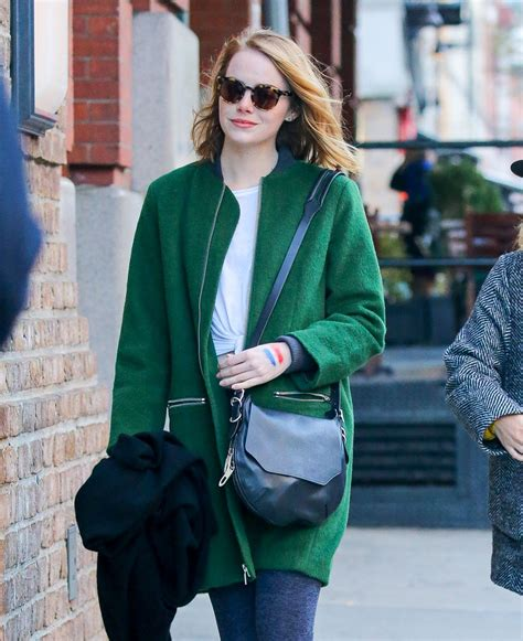 emma stone style emma stone style out in nyc november 2015