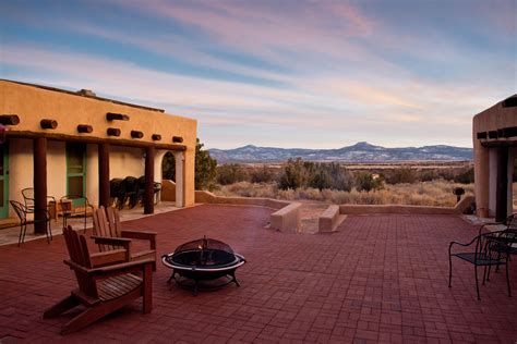 Single Story House casa del sol retreat house at ghost ranch ghost ranch