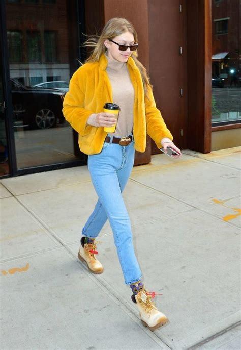 gigi hadid  cropped straight leg jeans denimology