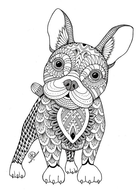 dog coloring pages hard dogs coloring pages difficult adult coloring home