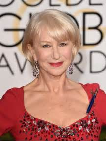hairstyles for people in their 60s helen mirren 70 anni da contadina