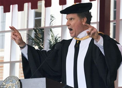will ferrell university movie will ferrell sings whitney houston at usc commencement