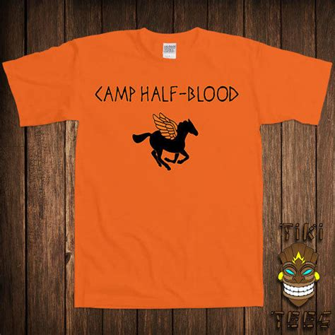 c half blood t shirt percy jackson from tikitee on etsy