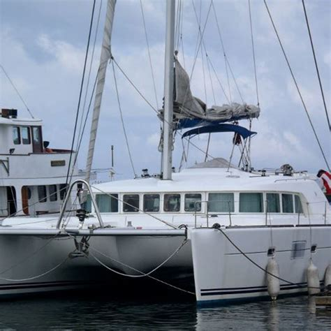 catamaran for sale indonesia gebruikt lagoon500 zeil catamaran boot te koop zeilboot