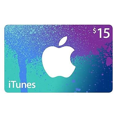 Itunes Gift Card 15 - 15 itunes gift card staples