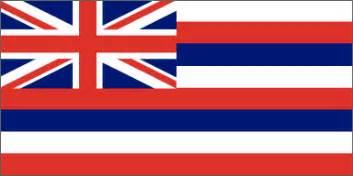 hawaiian colors hawaii state flag