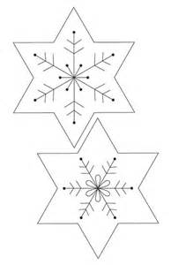 easy snowflake template paper snowflakes templates quilting snowflakes