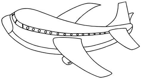 airplane clipart coloring page air plane cartoon cliparts co