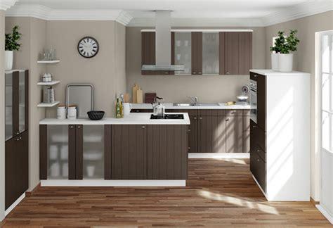 braune und weiße küchen kleines schlafzimmer richtig gestalten