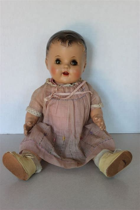 1940s composition doll 20 quot antique composition 1940 s baby doll with