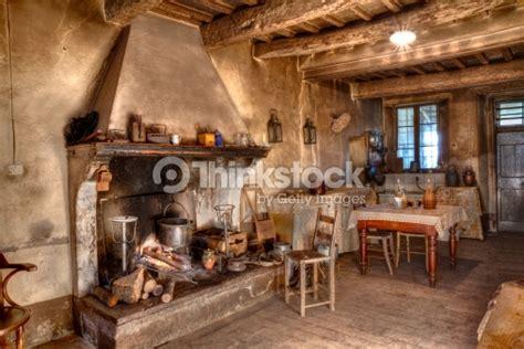 Rustic Cabin Kitchen Ideas Autrefois Ferme Photo Thinkstock
