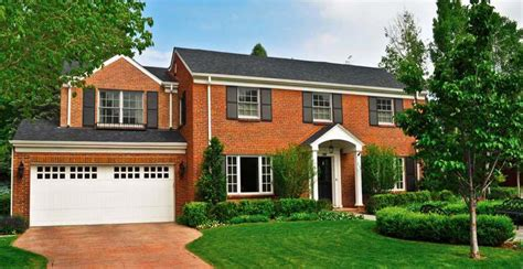 Center Hall Colonial Floor Plans 16 most popular roof types