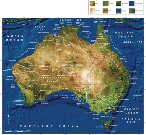 australia satellite map australia satellite map