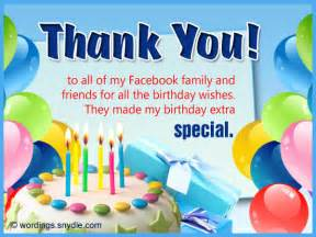 thank you for the birthday card how to say thank you for birthday wishes wordings and